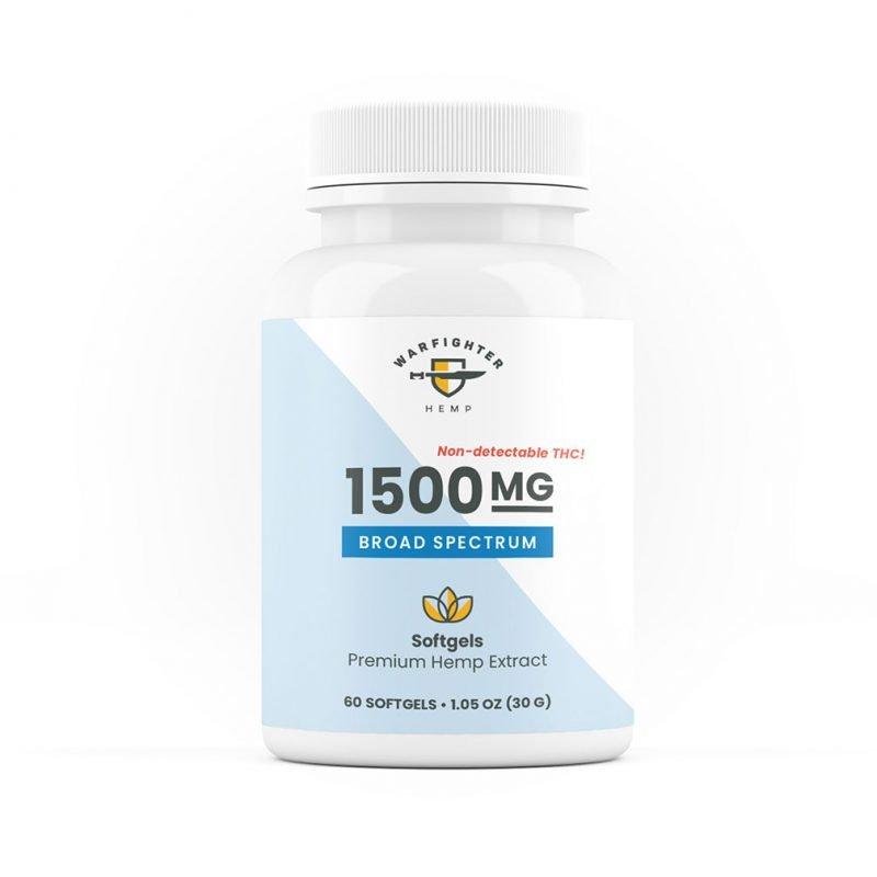 1500 mg Broad Spectrum SoftGels