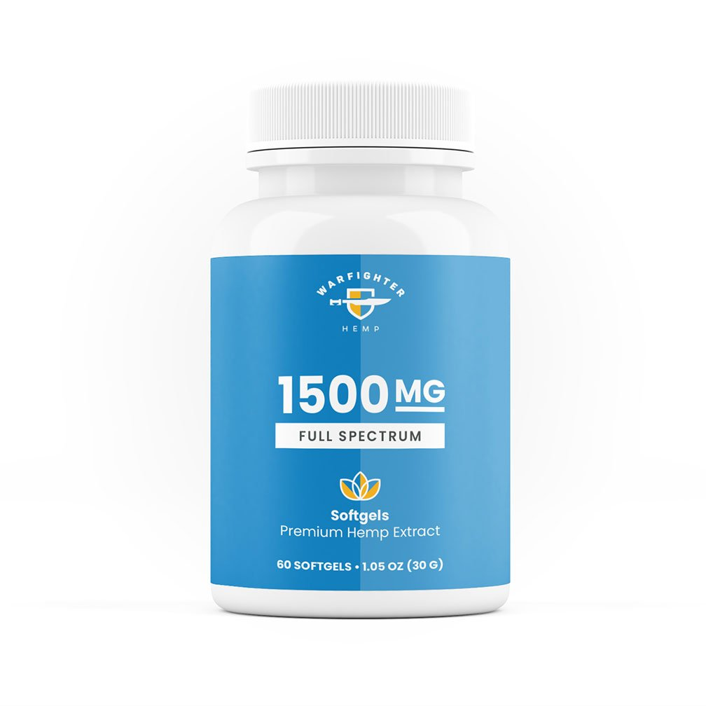 1500 mg Full Spectrum SoftGels