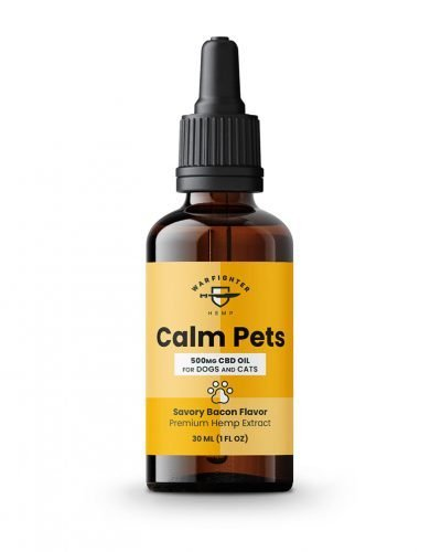 Bacon Flavor 500 mg Full Spectrum Pet CBD Oil