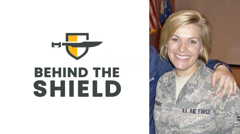 Behind the Shield – Christine Clayburg