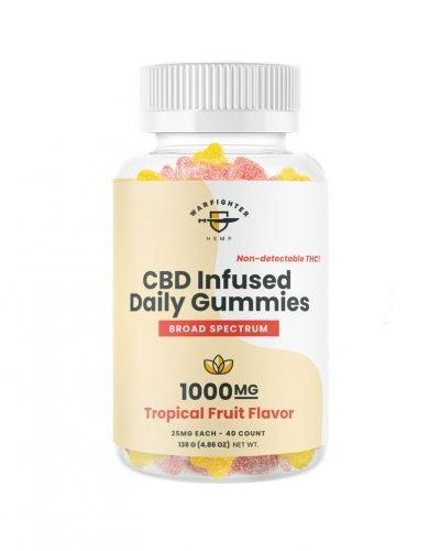 Daily Gummies 1000 mg CBD Broad Spectrum