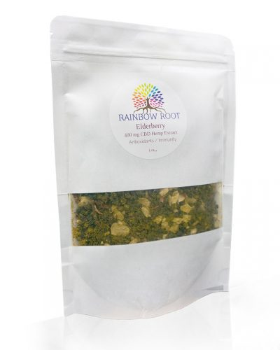 Elderberry Rainbow Root Hemp Tea