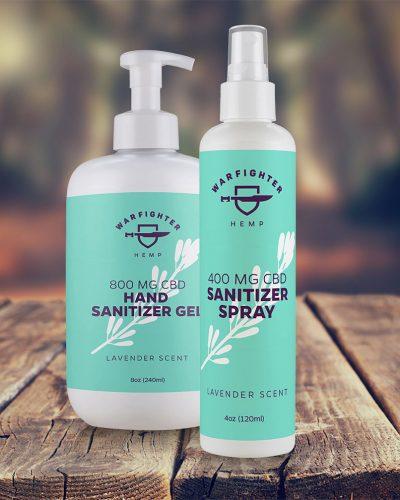 Hand Sanitizer Spray and Gel Bundle