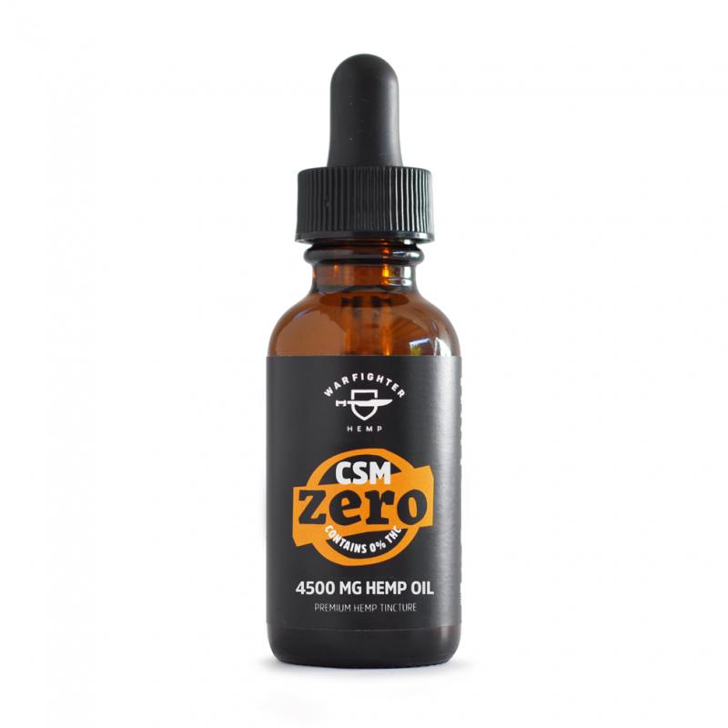 CSM 4500mg CBD – Zero THC Hemp Oil