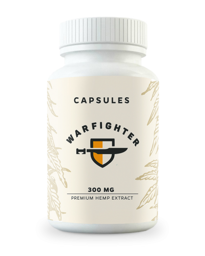 300 MG CBD Vegan Full Spectrum Capsules