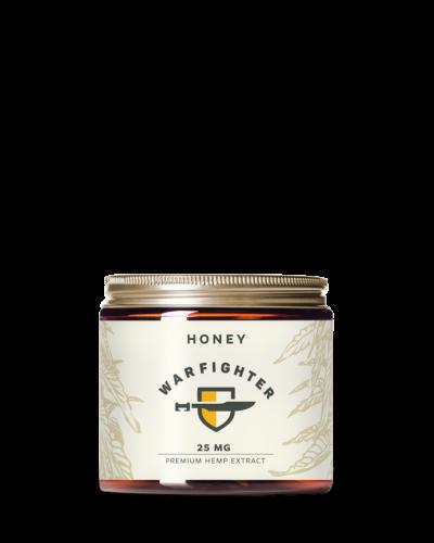 25mg CBD Full Spectrum Clover Honey