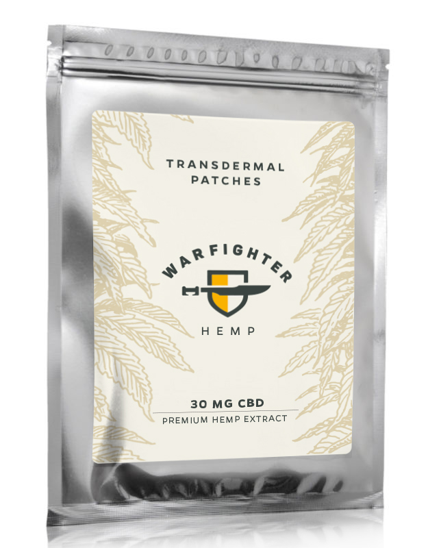 30mg CBD – Full Spectrum Transdermal Patch