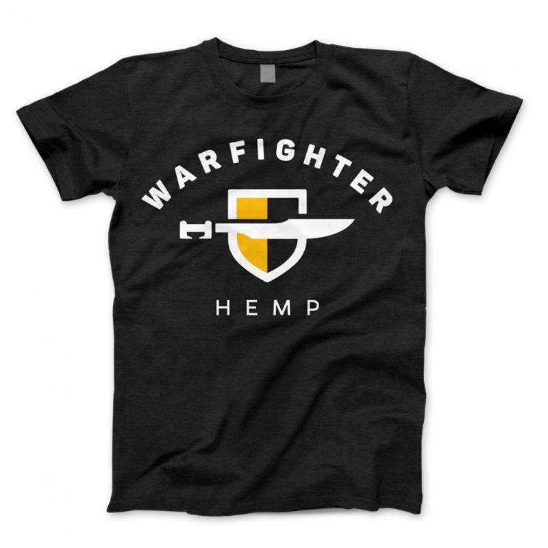 Warfighter Hemp Gear - Shirt - Black