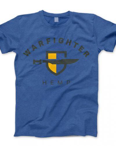 Warfighter Hemp Gear - Shirt - Blue