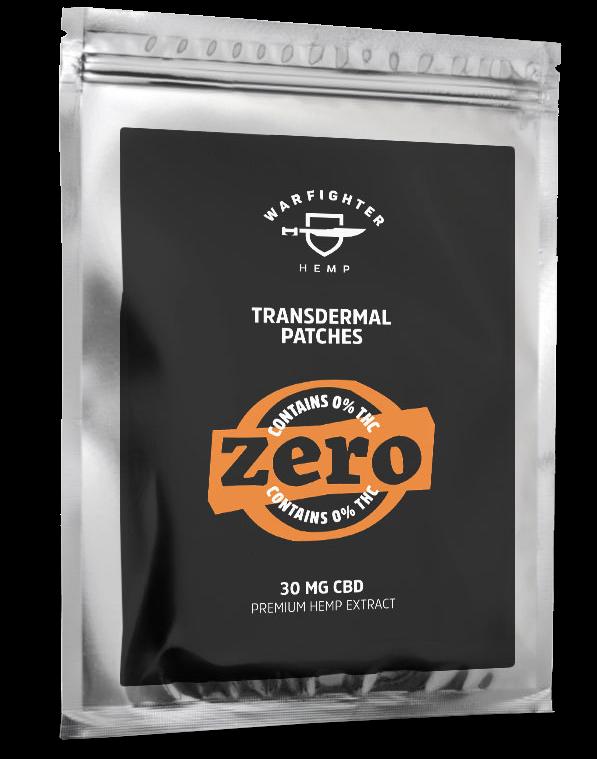 30mg CBD – Zero THC Transdermal Patch